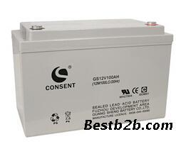 CONSENT电池GH12V100AH 佳华厂家