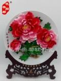 牡丹瓷姐妹花-洛陽水月牡丹瓷生產廠家