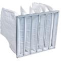 袋式空氣過濾設備供應F5F6級中效袋式過濾器