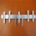 鐵路道岔轍叉磨耗測量尺TZT 鋼軌岔芯磨損檢測儀