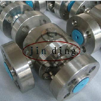 三片式球阀及对焊连接球阀分为整体式一片式,两段式及三段式.图片