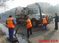 工人村化粪池清理采用自排自吸清淤车