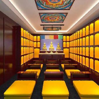 装饰工程设计有限公司自成立以来凭借多年的室内设计,密宗佛堂设计