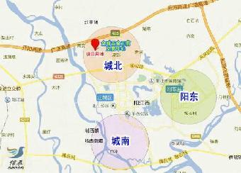 阳江市城北13万平方米优质商住土地出售图片