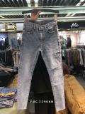 处理尾货牛仔裤清货低价小脚裤库存杂款牛仔裤批发