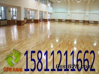 唐山篮球地板 篮球馆运动木地板施工 运动木地