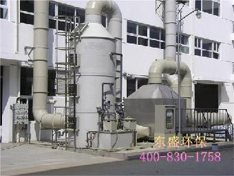 这种惠州塑料厂废气处理设备酸碱废气喷淋塔采用