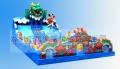 百美設計定做充氣兒童滑梯城堡讓人歡喜