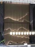 惠州山水不锈钢屏风 不锈钢隔断屏风制作