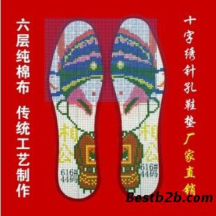 十字绣鞋垫的图案款式