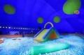 兒童游樂鯨魚島充氣氣模出租出售