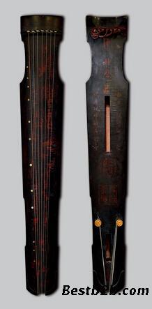 广州2015年明万历仲尼式古琴拍卖图片
