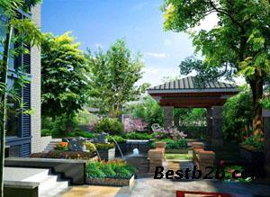 南通别墅庭院设计晨价格城西别墅重庆大学原著图片