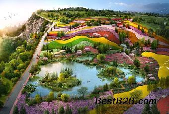 园林景观设计之花境的设计方法国外优秀展板设计图片