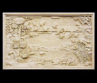 砂岩雕塑喷泉,欧式砂岩雕塑人物