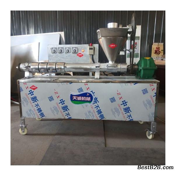 自熟蛋白肉机牛排豆皮机技术