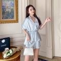 TY&WOMAN品牌折扣輕薄銅氨絲套裝大碼女裝批發
