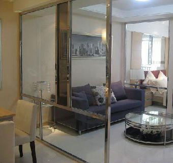 濟南客廳隔斷 陽臺與客廳隔斷設計玻璃移門