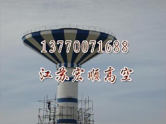 风力发电机塔架防腐维护