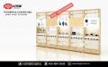 華為手機靠墻配件柜臺體驗桌3.6版全系列展示柜臺廠