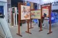 5月新疆创城宣传橱窗,铝合金宣传栏,宣传栏厂家专业