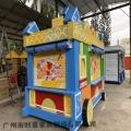藍色童話 卡通售賣亭售賣車時景可訂制