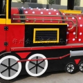 一直被模仿从未被超越 金山游乐无轨小火车厂家