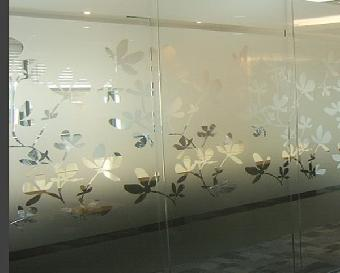 北京办公室磨砂纸 玻璃纸 玻璃贴膜