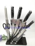 阳江商务礼品厨用刀复合钢七件套