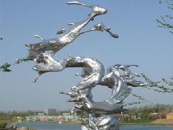 陕西景区不锈钢雕塑制作厂家