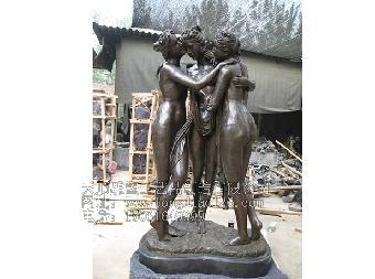 欧式小区雕塑_欧式人物雕塑_主题性雕塑