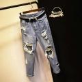 广东称斤库存牛仔裤批发市场在哪里有尾货牛仔裤批发