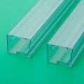 廣州pvc方管ic料管透明包裝管尺寸準