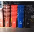 供應四川戶外分類垃圾桶塑料大號加厚可定制印字