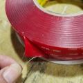 红膜透明3MVHB双面胶 1mm厚 强力高粘防水耐