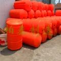 河面浮體廠家攔污攔截垃圾浮筒