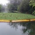 水面隔離垃圾浮排設備攔截浮筒廠家