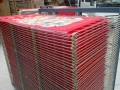 內蒙古印花廠便捷式50層絲印千層晾曬架干燥架