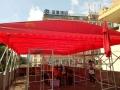貴州定做遮陽棚燒烤帳篷活動棚伸縮式雨棚