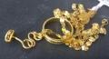 KKG商城教你黃金項鏈和黃金耳飾的搭配