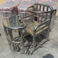 浦喆 審訊椅 訊問椅 不銹鋼審訊椅
