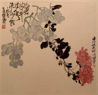 桃花国画法步骤图片