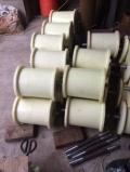 尼龙地滚轮价格,矿用地滚轮厂家,尼龙托绳轮