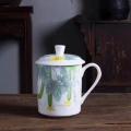 景德鎮陶瓷茶杯辦公杯家用喝茶杯子套裝會議杯酒店定制