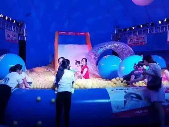 鲸鱼岛出租 蓝色鲸鱼岛租赁,百万海洋球出售