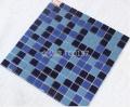 金弘盛蓝色游泳池拼图马赛克瓷砖