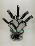 可旋转刀架优质七件套刀家用赠品用