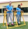 室外健身路徑-健身器材廠家