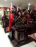 牛市沖天銅牛大擺件 西安會議大型擺件樹脂工藝品出售