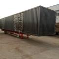 13.95米骨架運輸集裝箱半掛車定做銷售批量出售
